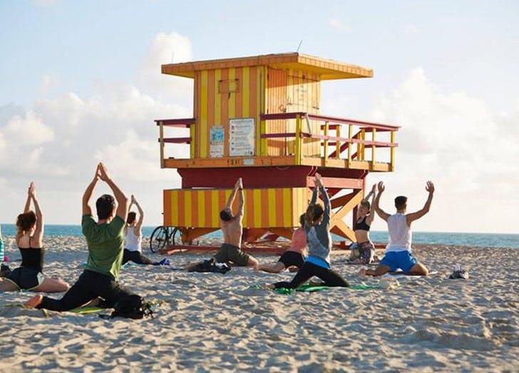 MIA fall things beach yoga LIST
