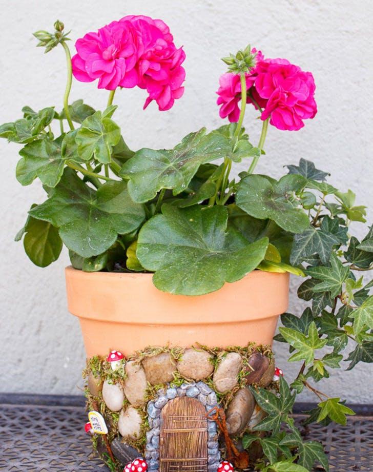 Magical Fairy Planter Pot