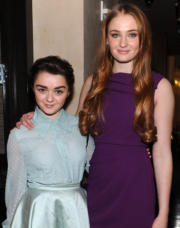 Maisie Williams Sophie Turner IRL besties 4