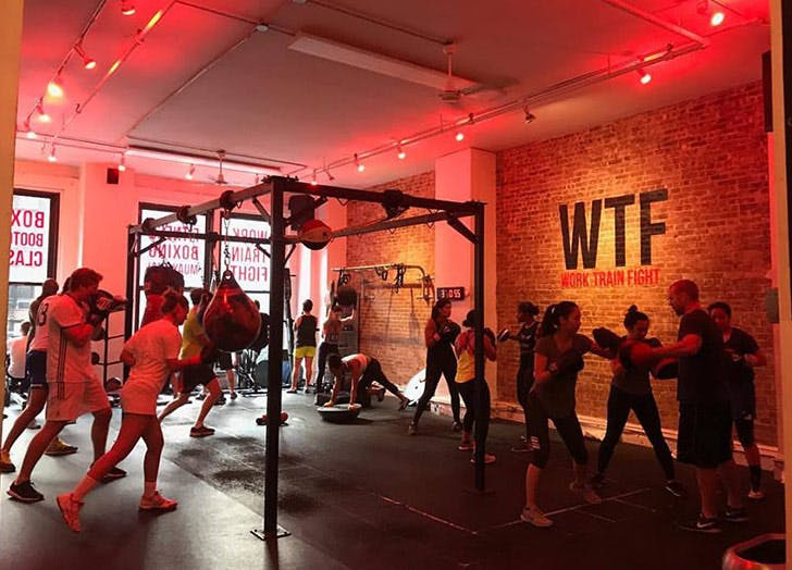 NY best workouts boxing LIST