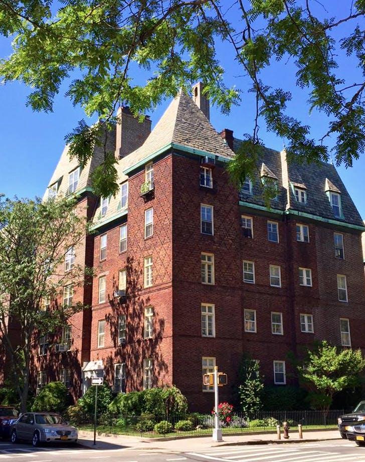 NY jackson heights tudor architecture LIST