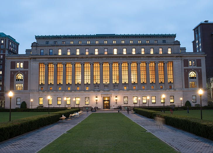 Nicholas Murray Butler Library at Columbia University