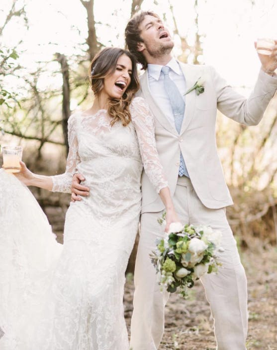 Nikki Reed Ian Somerhalder wedding