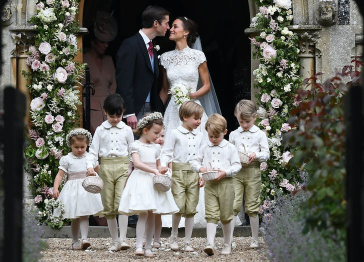 Pippa Middleton James Matthews Wedding Princess Charlotte