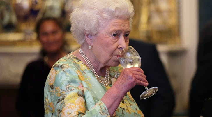 PSA: Queen Elizabeth II Says Drinking 4 Cocktails a Day Is Perfectly Acceptable
