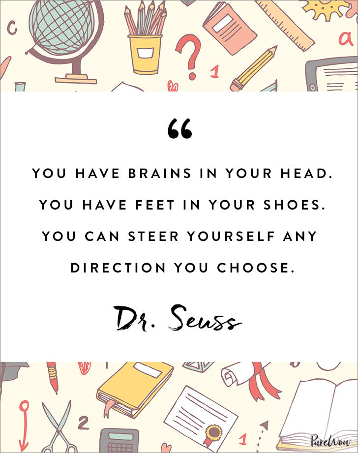Back To School Quotes 9 Inspirational Back to School Quotes for Your Kids   PureWow Back To School Quotes