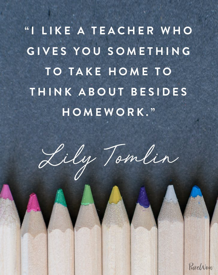 9 Inspirational Back To School Quotes For Your Kids Purewow