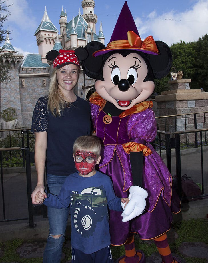 Reese Witherspoon Dreams Come true at Disney