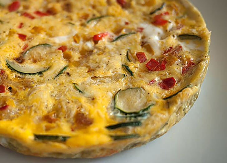 Rice cooker fritatta