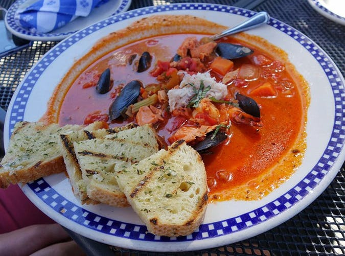 Seafood Cioppino at Duke s Chowder House in Seattle