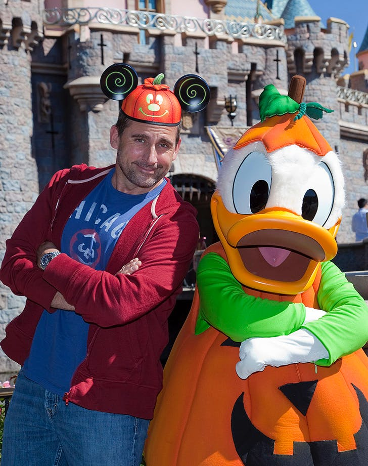 Steve Carell Dreams Come true at Disney