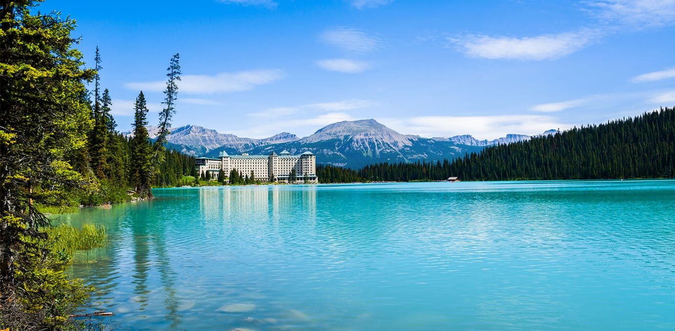 The Fairmont Chateau Lake Louise  Alberta  Canada  elopement packages