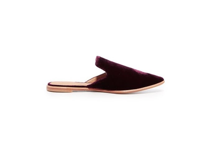 Tory Burch velvet slide 2
