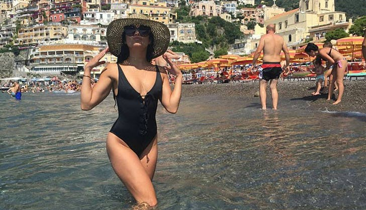 Vanessa Hudgens One Piece Swimsuit
