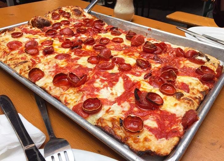 adriennes pizza NY