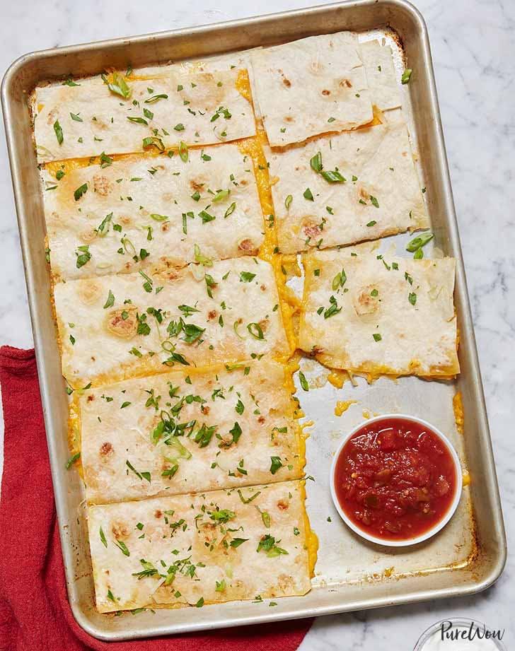 baking sheet quesadillas 921