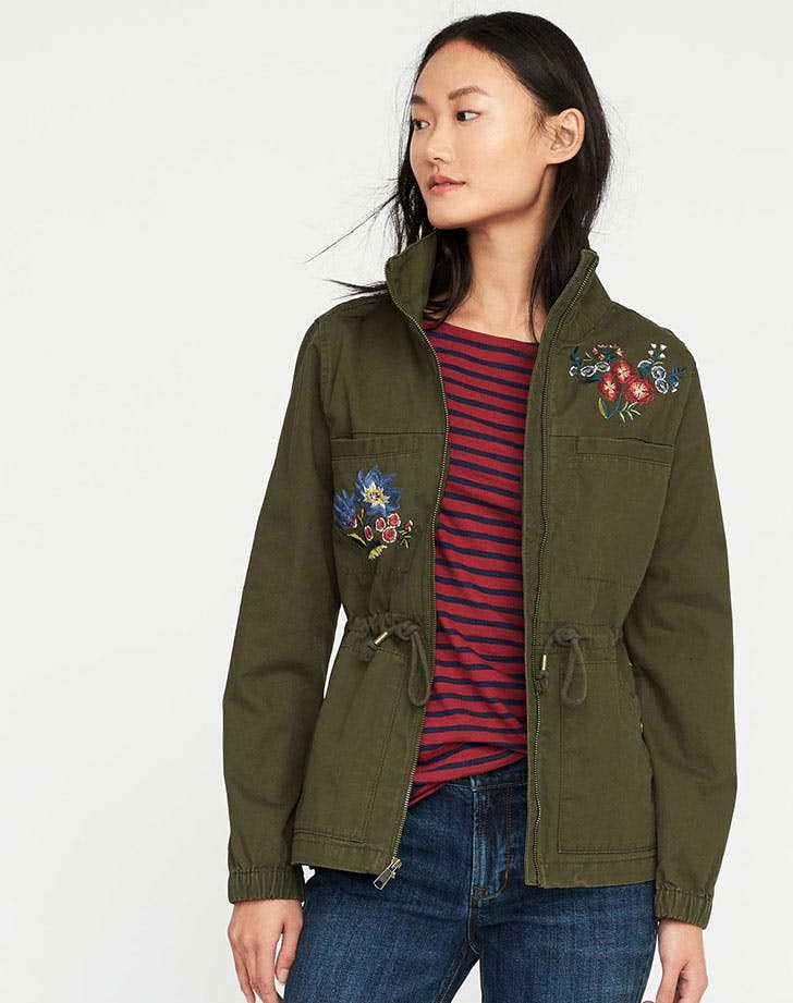 best things at old navy field jacket