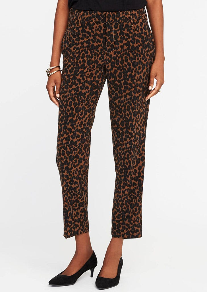 best things at old navy leopard pants