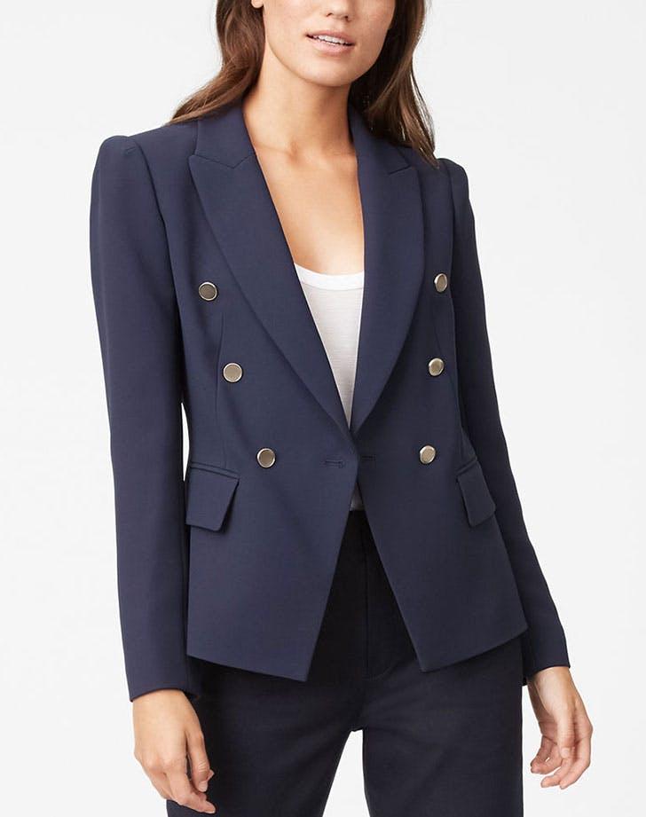 blazer structured