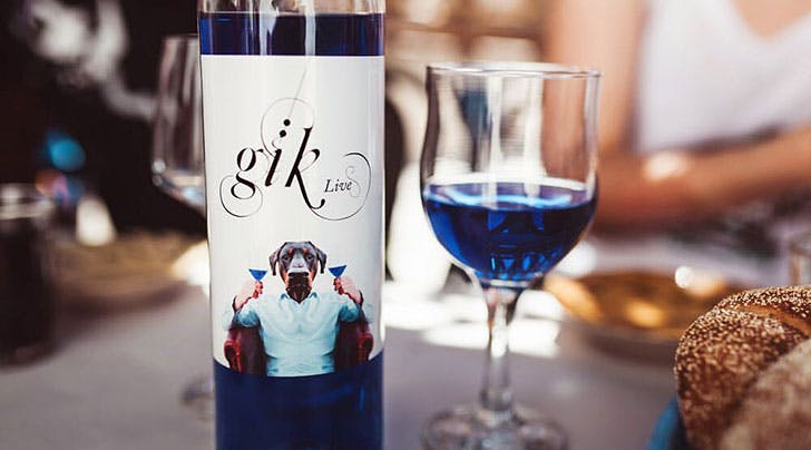 That Cool Blue Wine Youve Seen All Over the Internet Is Finally Coming to the U.S.