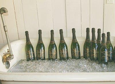 champagne bathtub 400