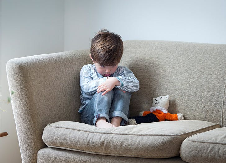 child alone timeout LIST