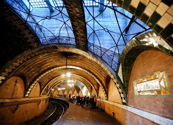 city hall subway station NY