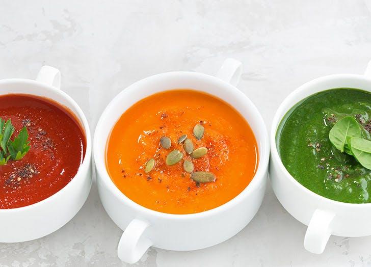 cold veggie soup 524