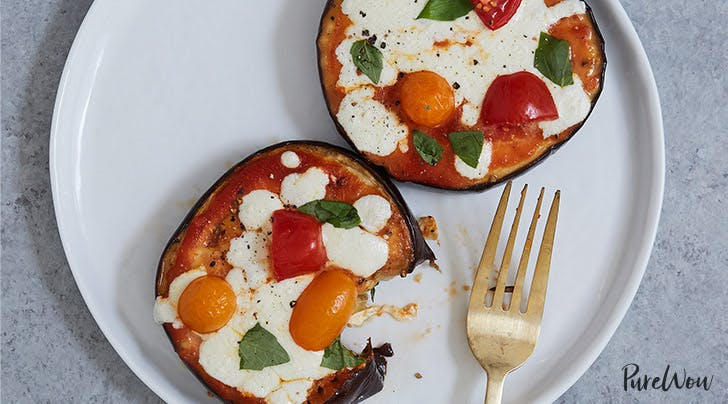 This Eggplant Pizza Is Low-Carb, Gluten-Free and Ready in Under an Hour