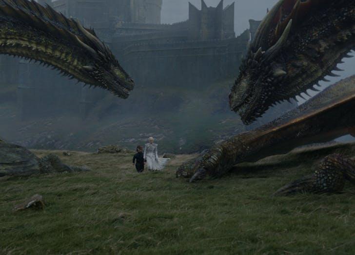 daenerys targaryen tyrion lannister Game of Thrones Season Seven Episode 6