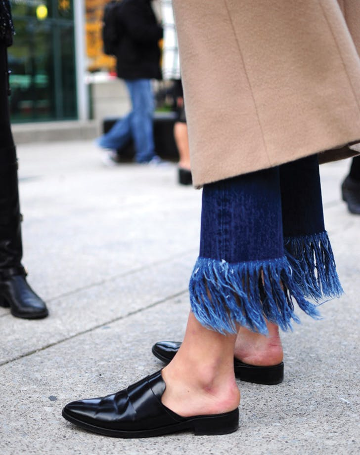 denim trends fringe