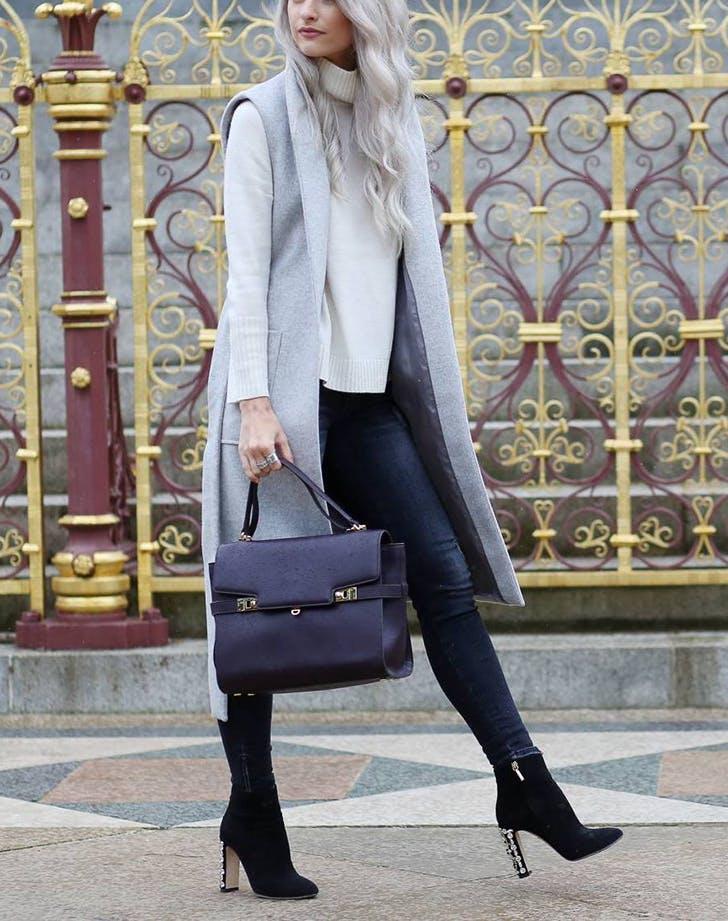 embellished heel ankle boots trend
