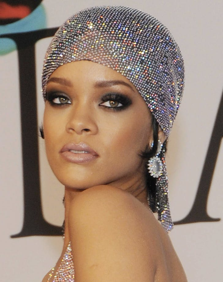 eyeshadow rihanna