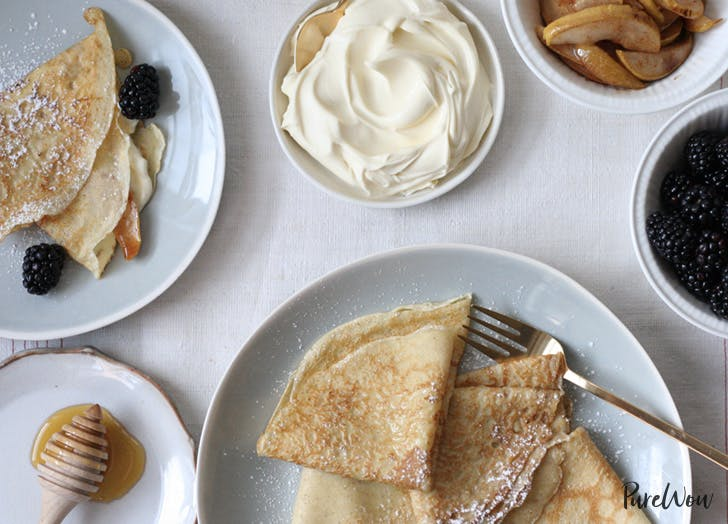 french desserts crepes