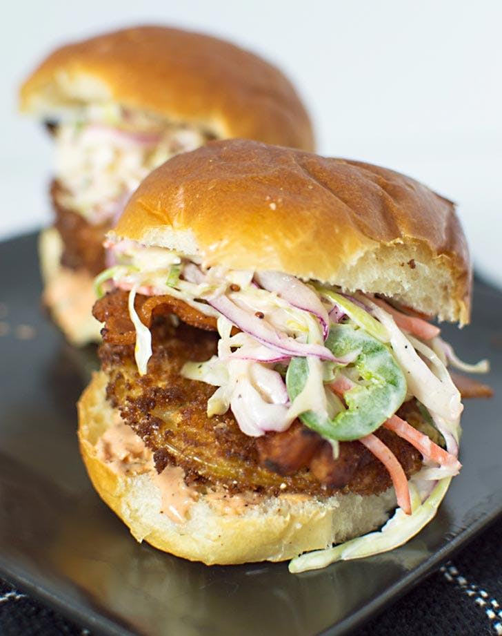 fried green tomato sliders 921