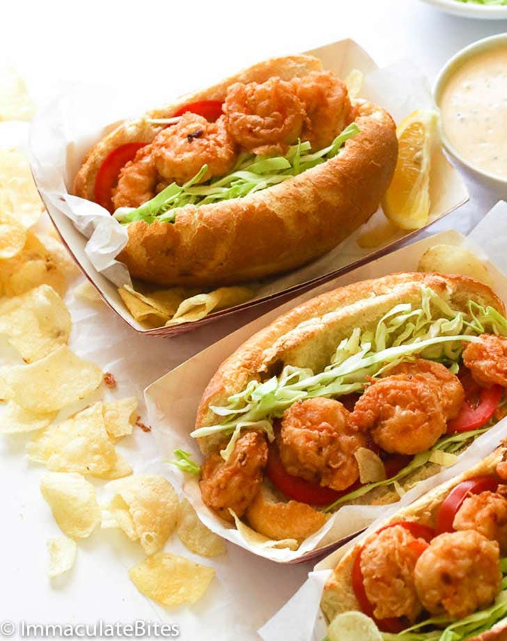 fried shrimp po boy 921