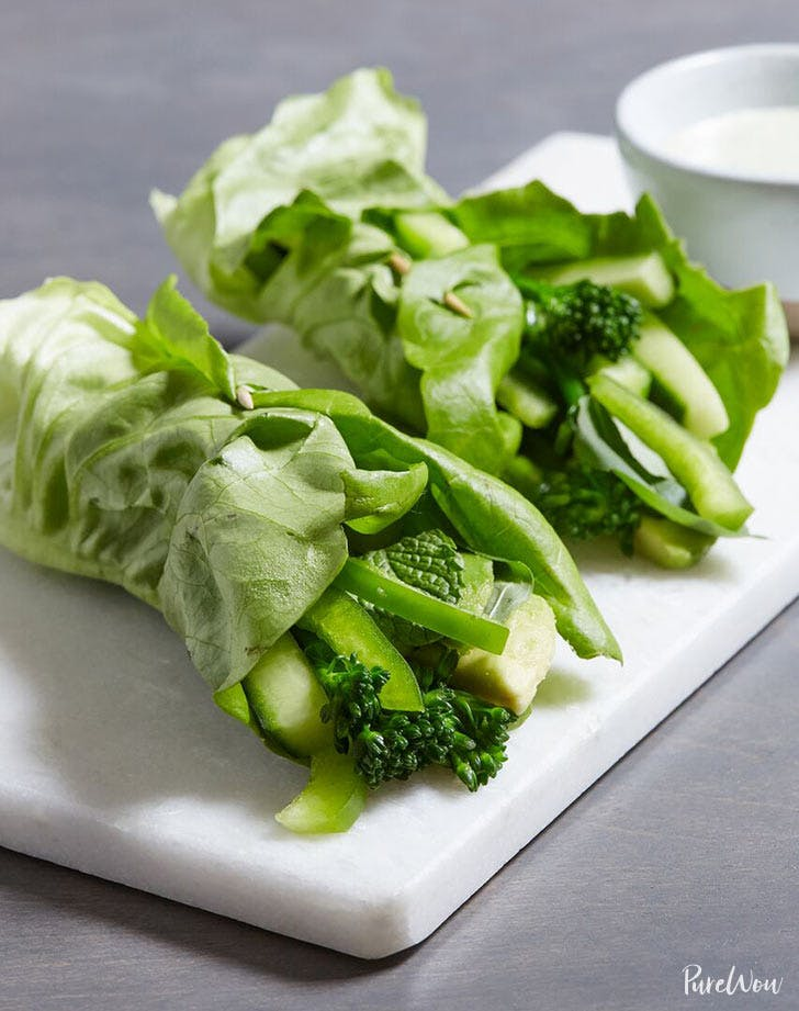 green wraps with green goddess dressing 9211