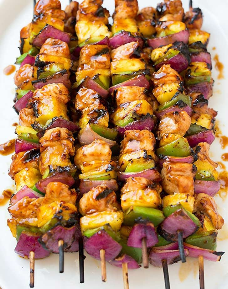 hawaiian chicken kebabs 921.