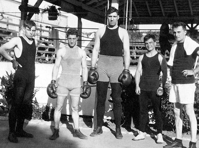 history of boxing california