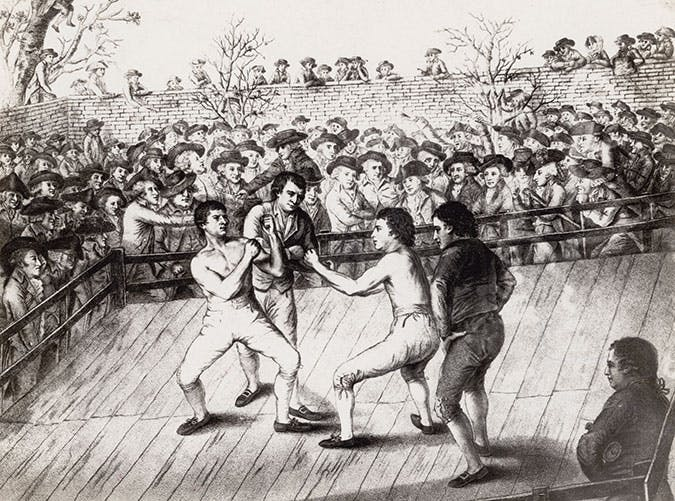 history of boxing england