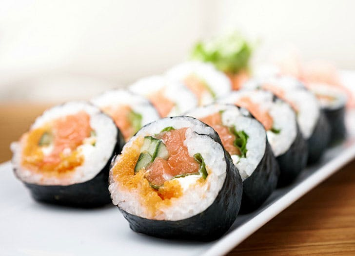 how to eat clean paleo sushi