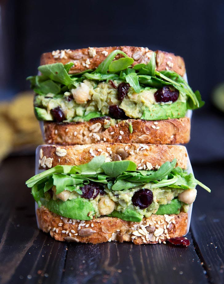 how to eat clean avocado chickpea