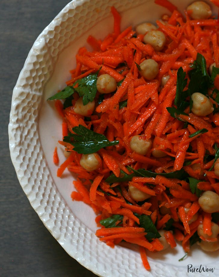 how to eat clean carrot salad