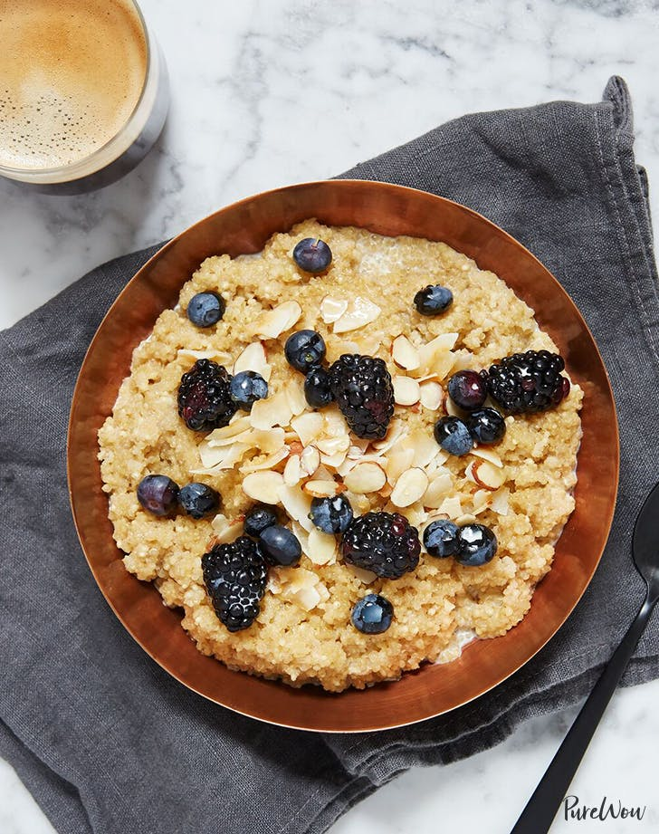how to eat clean quinoa oatmeal