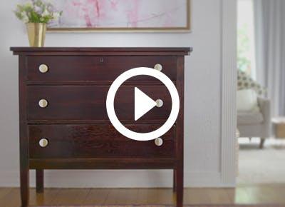 how to refinish furniture cat