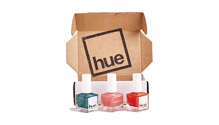 hue square nail box