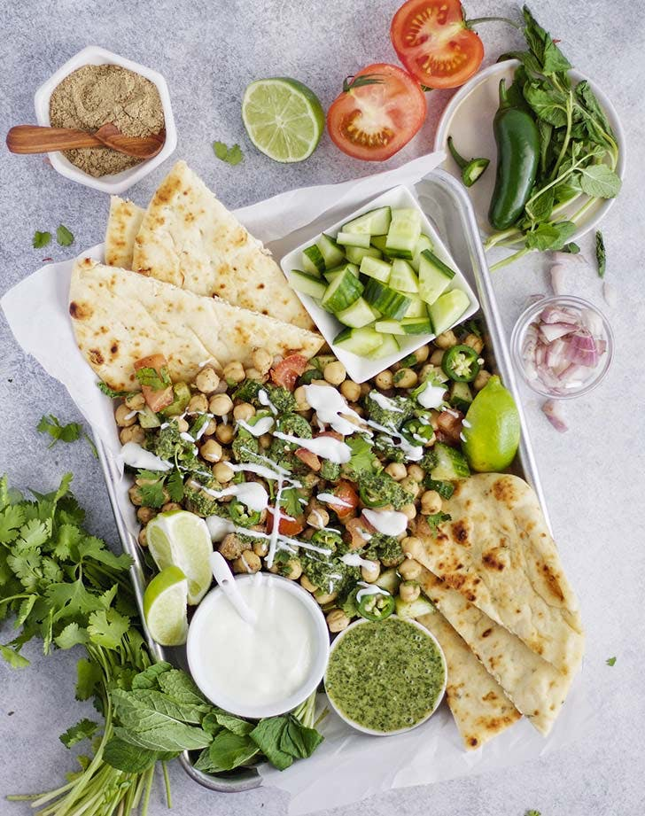 indian cumin chickpea salad 921