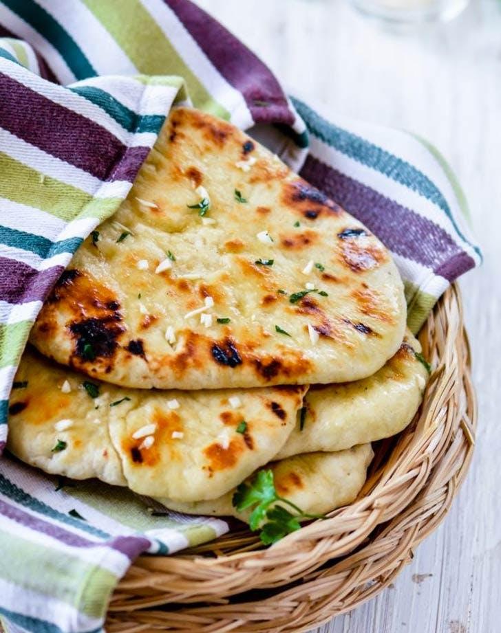 indian garlic butter naan 921