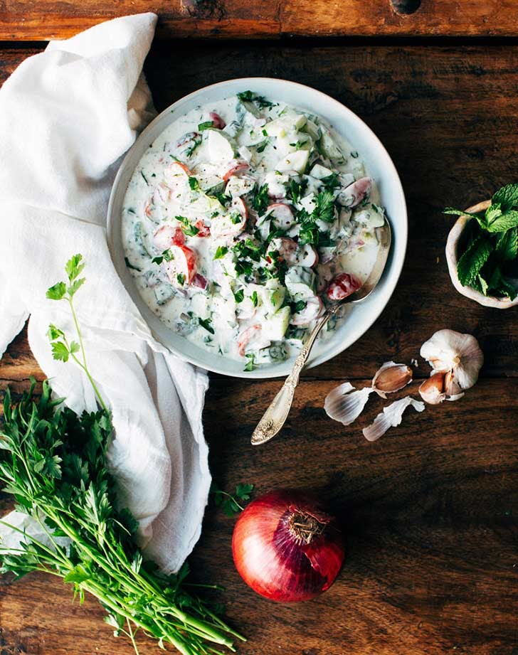 indian yogurt cucumber salad 921
