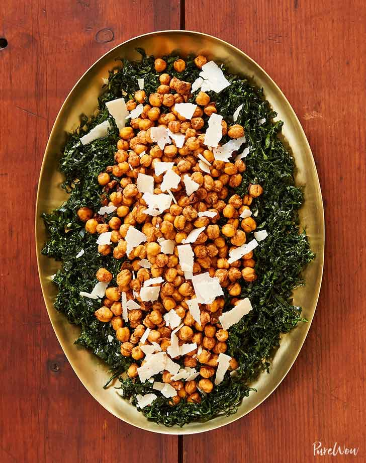 kale salad with crispy chickpeas 9211